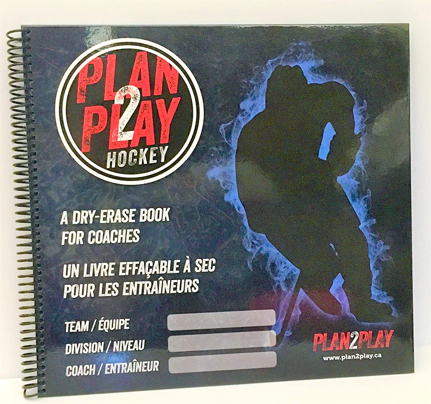 Plan2Play - Hockey A Dry Erase Book for Coaches : Sports & Outdoors