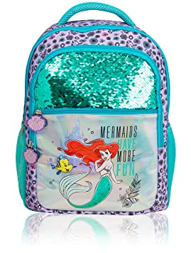 Mochila Disney Para Niñas | Mochila Infantil Con La Sirenita ...