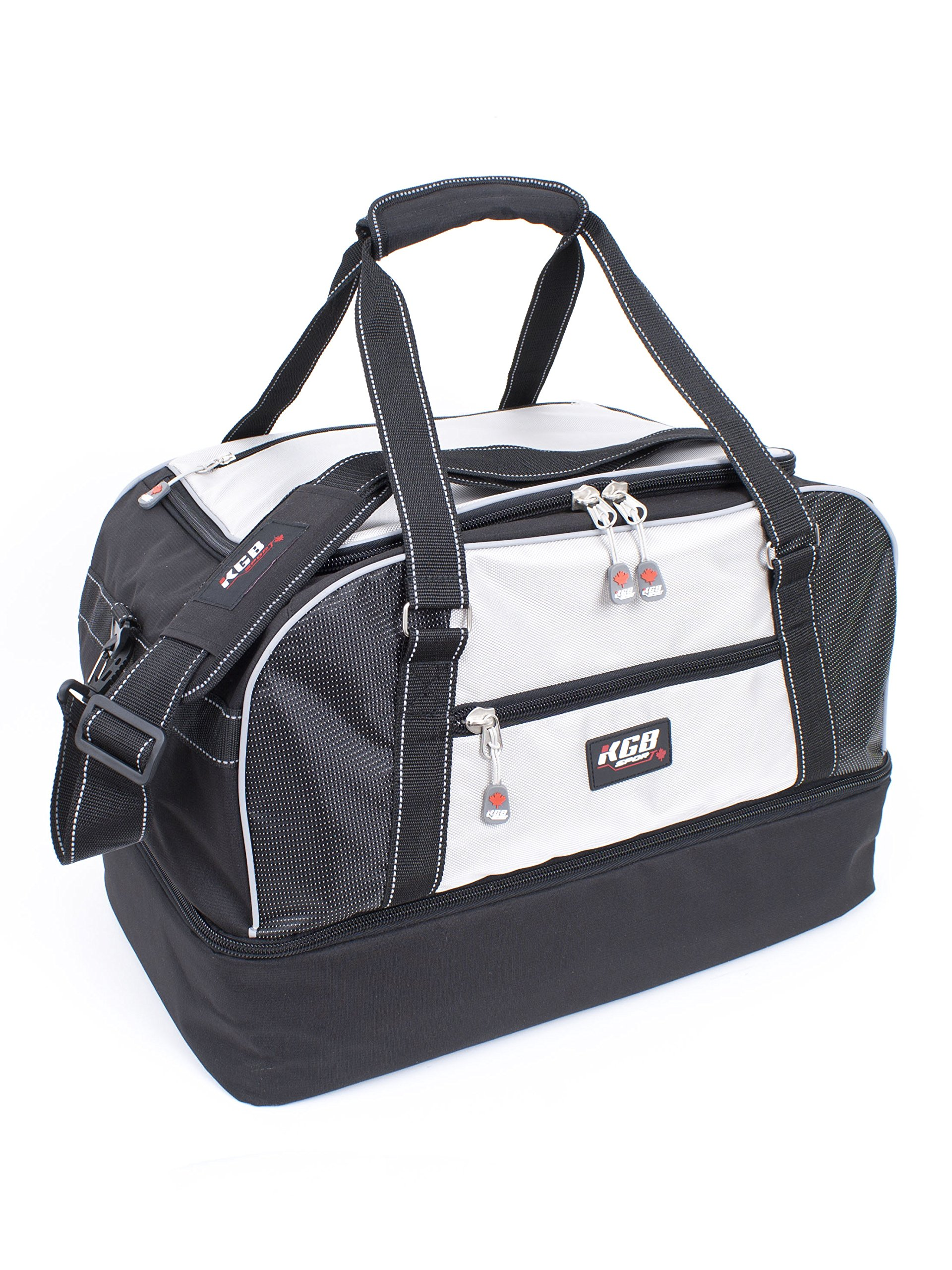 KGB Sport Drop Bottom Boots Duffle, Silver, One Size