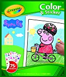 Crayola Color & Sticker Book - Peppa Pig