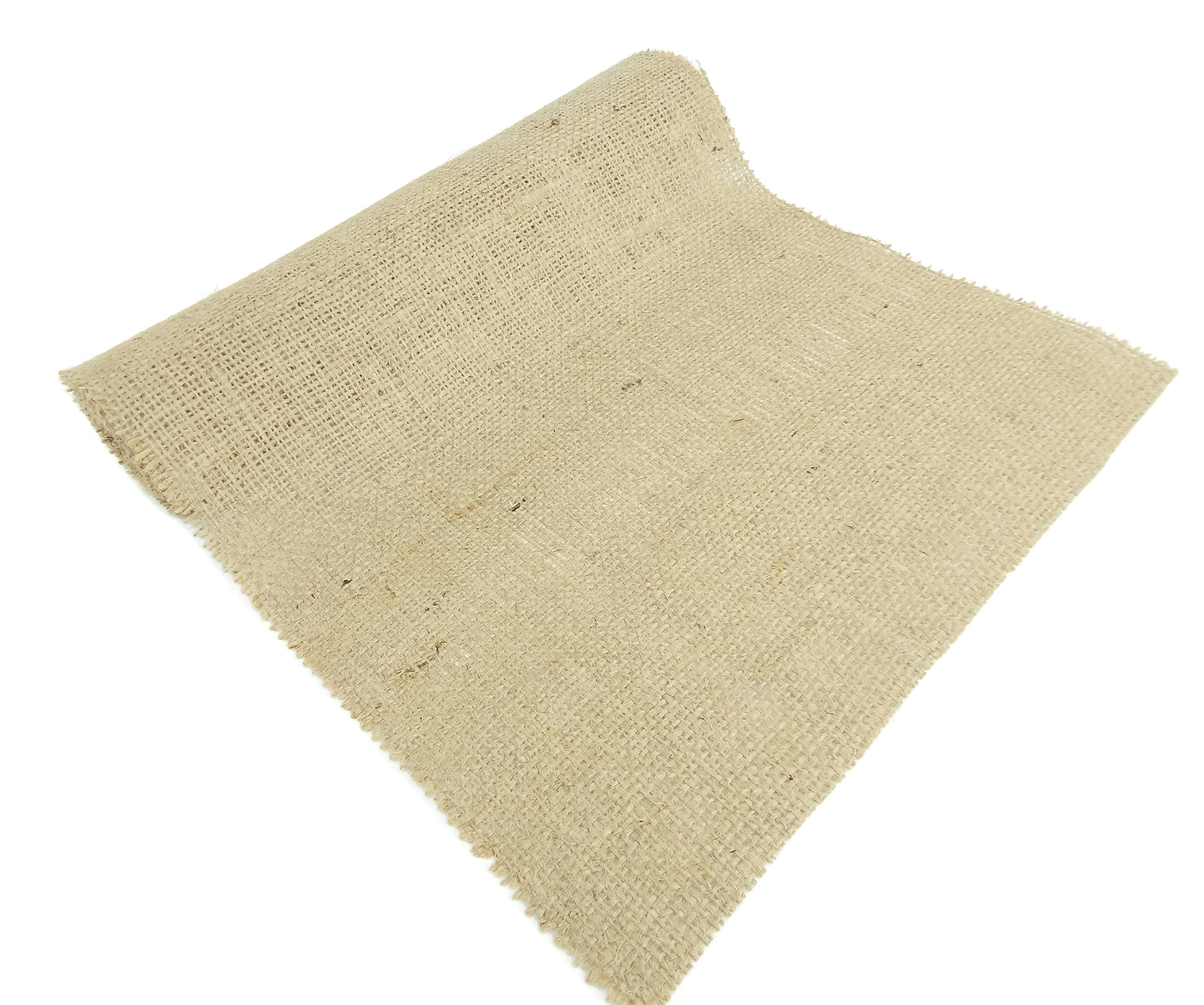 Burlap and Beyond 14'' Natural Burlap Roll - 50 Yards Eco-Friendly Jute Burlap Fabric Unfinished Edges 14 Inch by Burlap and Beyond (Image #3)