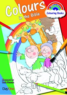 Rainbow Colouring Book Colours In The Bible