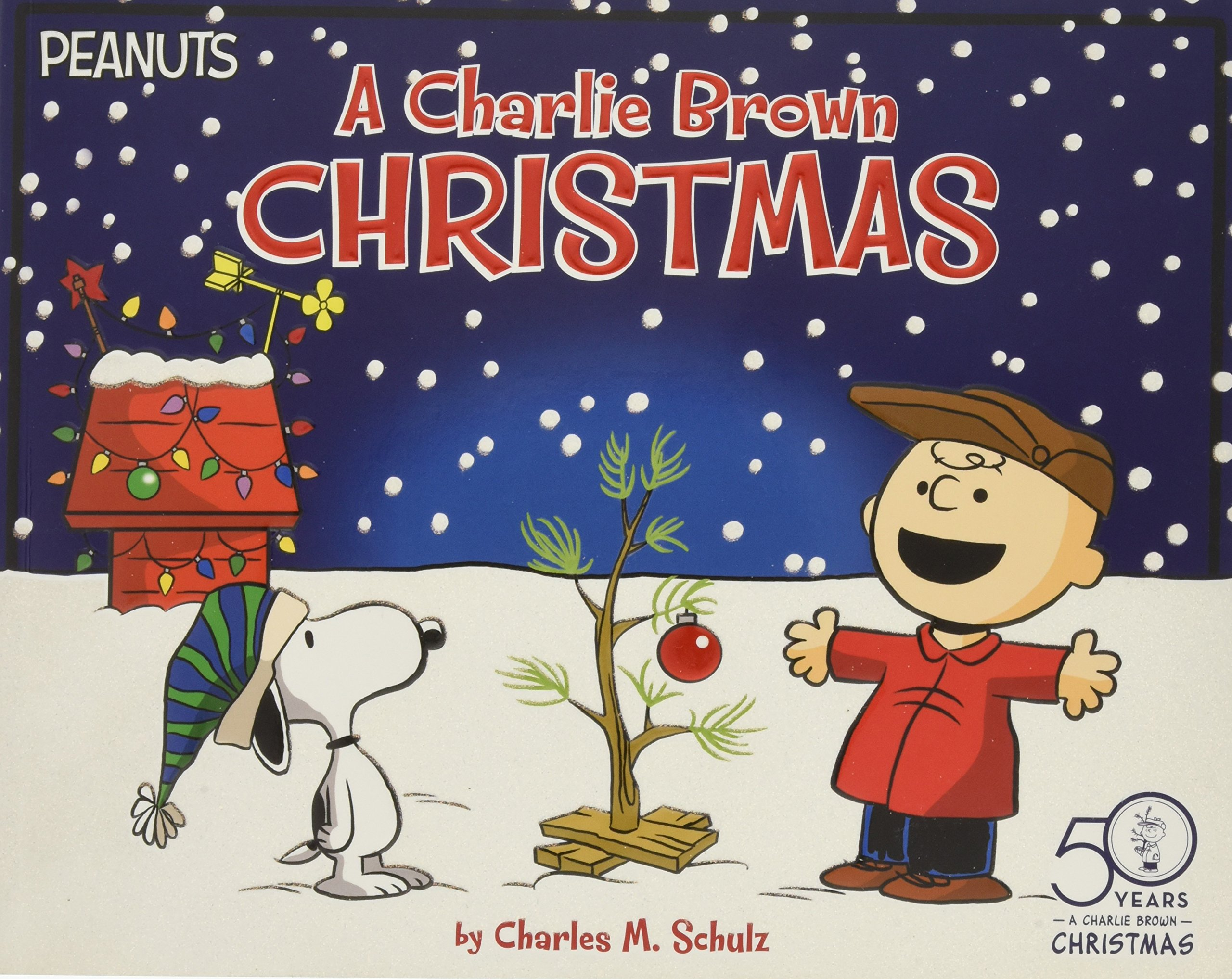 Charlie Brown Christmas Images.A Charlie Brown Christmas Peanuts Amazon Co Uk Charles M