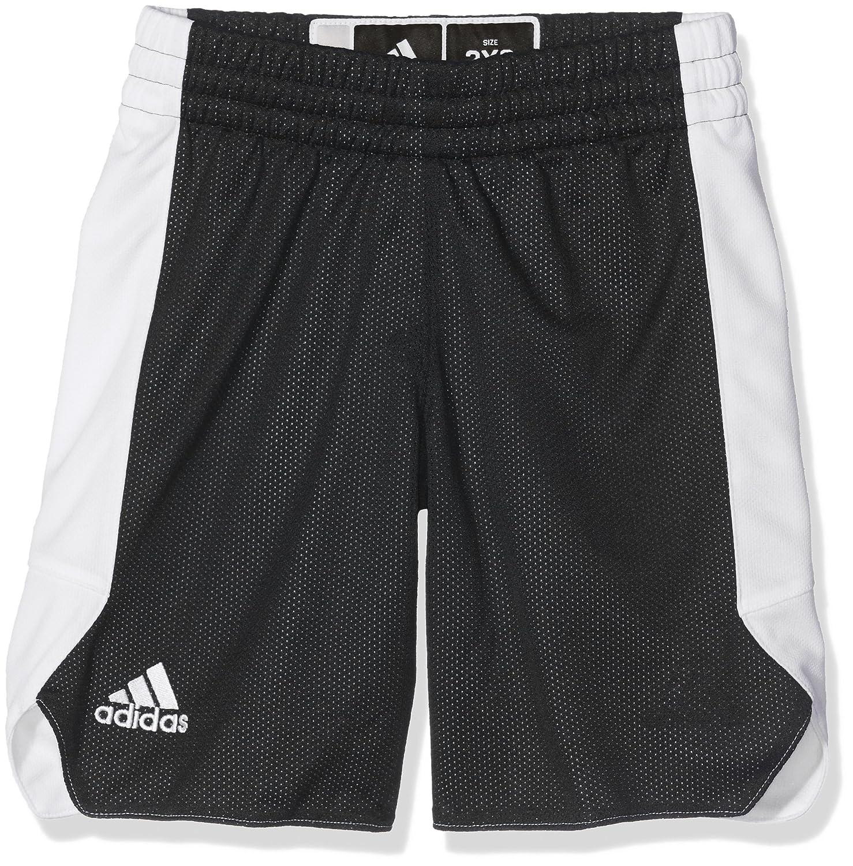 Adidas CG1279 Pantalones Cortos, Unisex niños, Negro/Blanco, 140 (9/10 años) Unisex niños 140 (9/10 años)