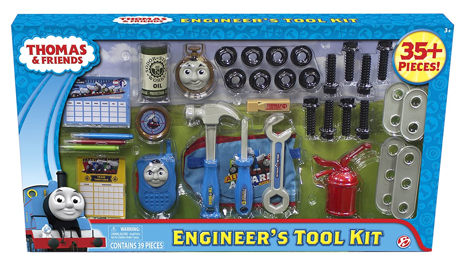 Basic Fun Thomas & Friends Engineer's Tool Kit