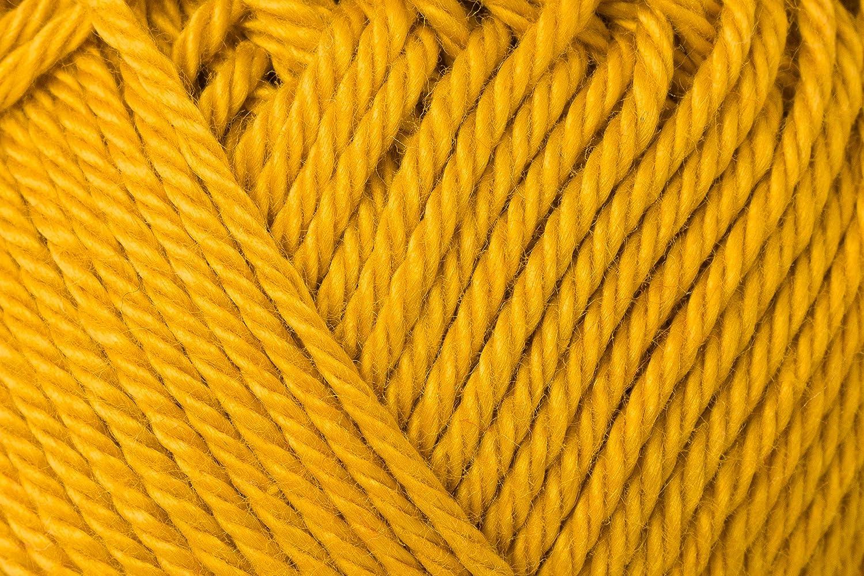 Schachenmayr Ovillo Hilo de algodón para Punto y Ganchillo Catania 9801210, algodón, Dorado, 11,5 x 5,2 x 6 cm: Amazon.es: Hogar