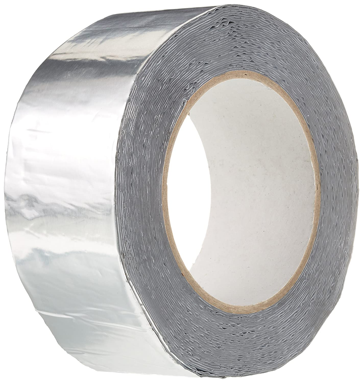 BONUS Eurotech 1BS06.11.0050/010# Butyl Tape With Aluminium, Width: 50 mm, Length: 10 m, Thickness: 0.7 mm, Grey