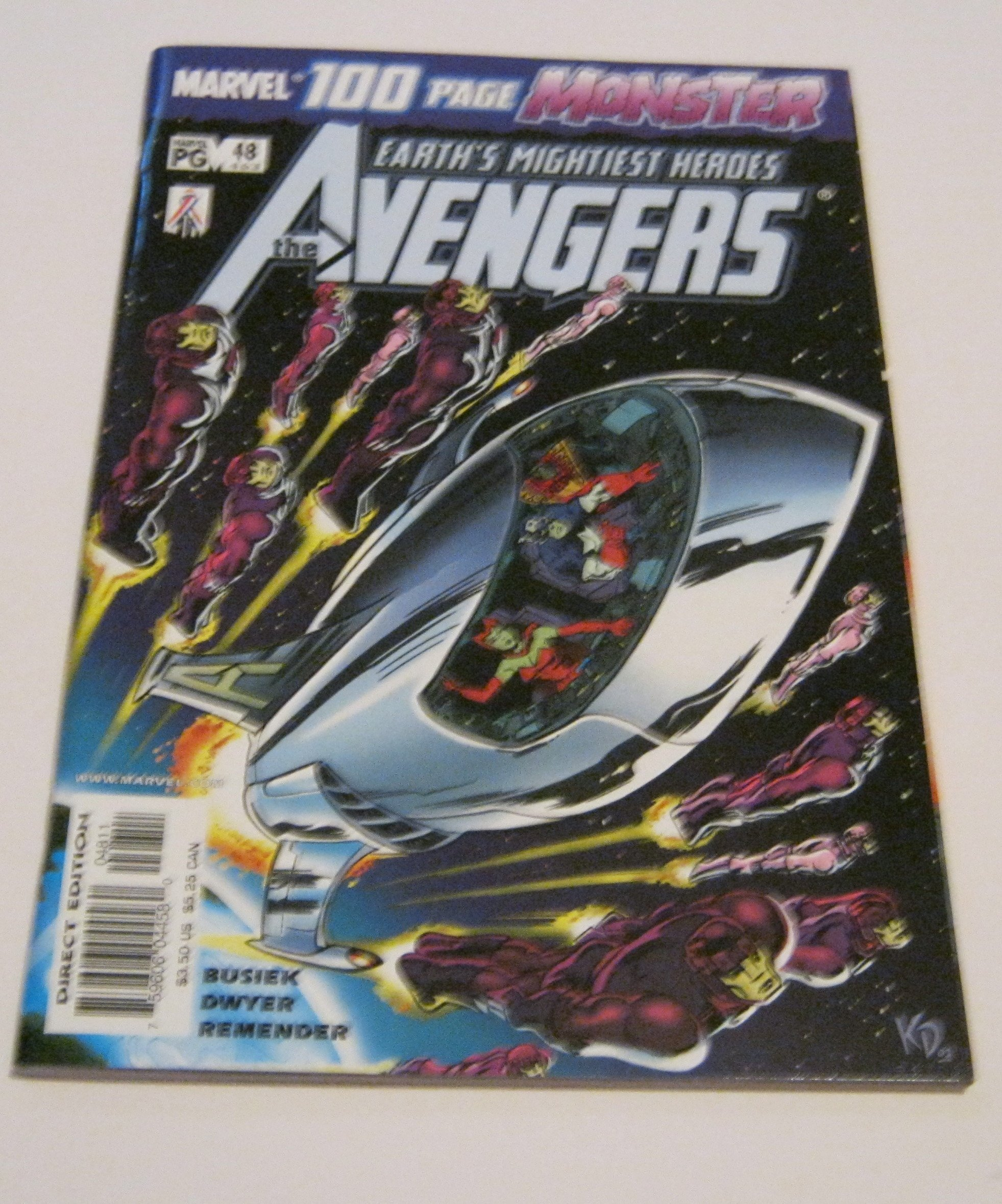 """Read Online The Avengers #48 """"100 Page Monster Issue"""" ebook"""