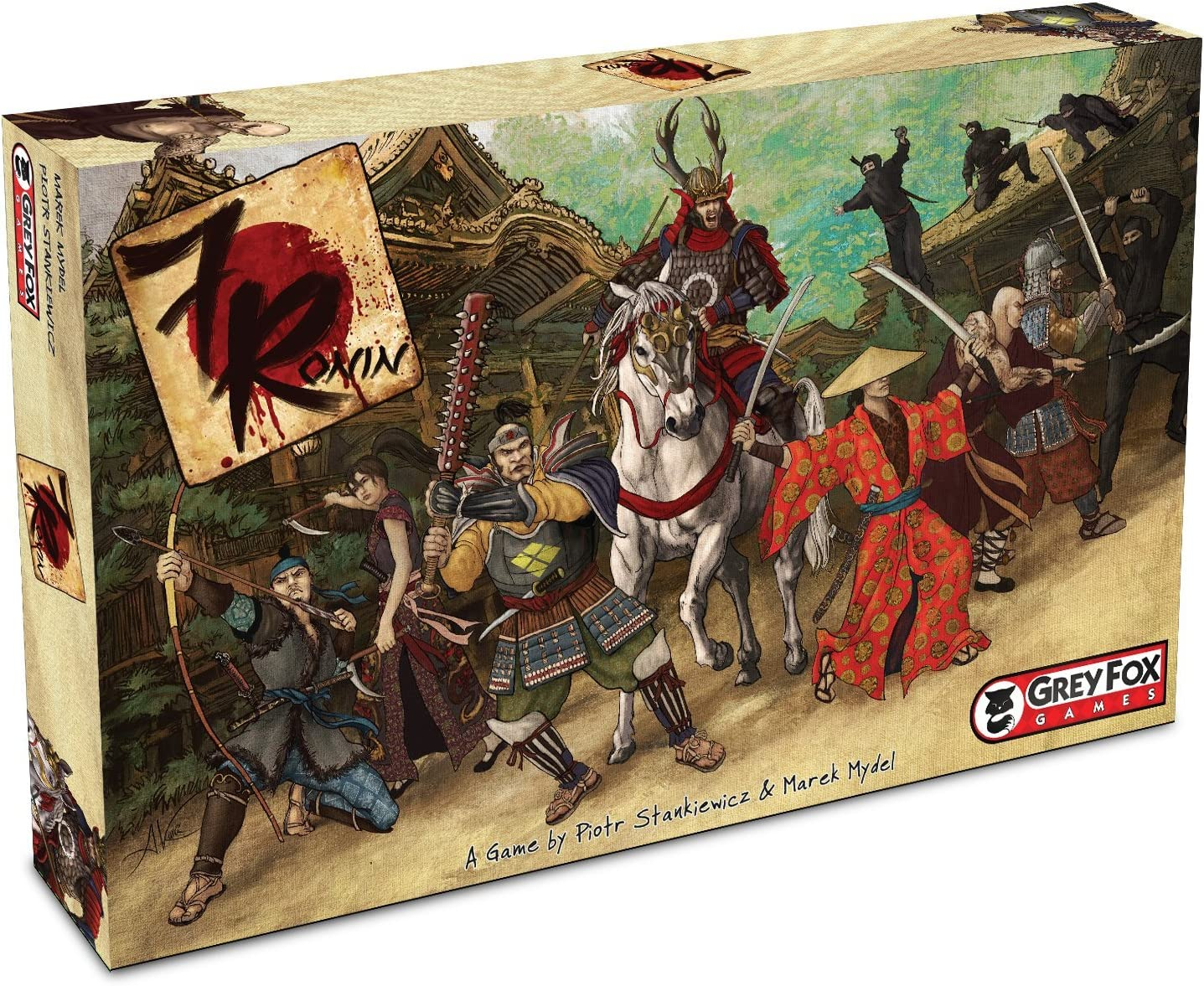 7 Ronin Board Game by Grey Fox Games