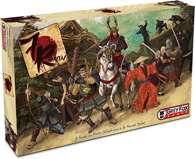 Grey Fox Games 7 Ronin Board Game