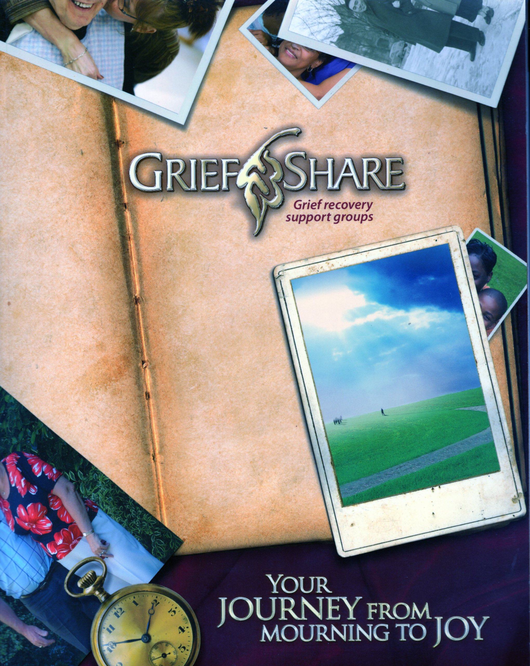 Grief Share Grief Recovery Support Groups Workbook (Your Journey From  Mourning To Joy): Grief Share: Amazon.com: Books