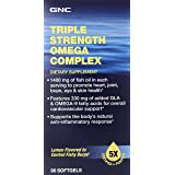 GNC Triple Strength Omega Complex Supplement, 90 Count