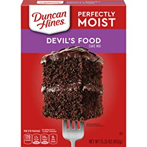 Duncan Hines Perfectly Moist Devil's Food Cake Mix, 15.25 OZ