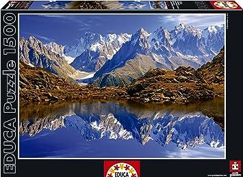 Puzzles Educa - Chamonix Mont Blanc Francia, puzzle de 1500 piezas (15532)