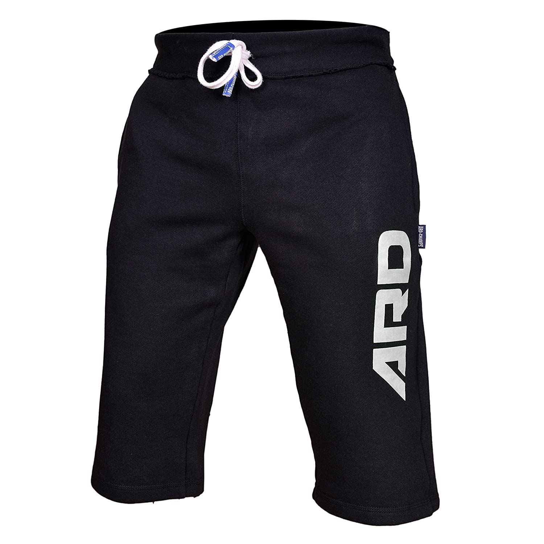 Amazon.com: Mens Cotton Fleece Shorts Jogging Casual Home Wear MMA ...
