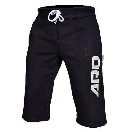 White, 2XL 4Fit Mens Cotton Fleece Shorts Jogging Casual Home Wear MMA Boxing Martial Art Jogger