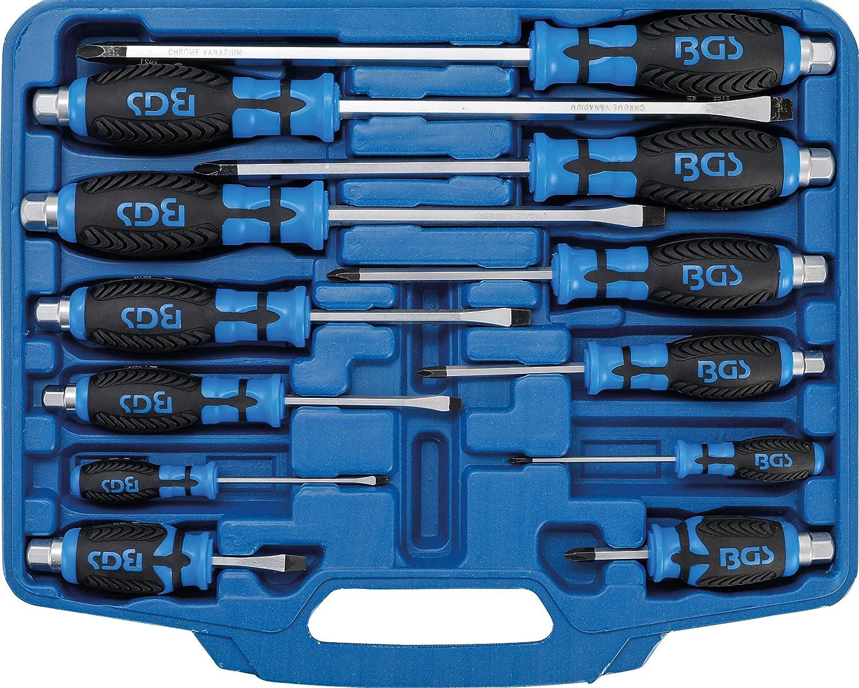 Bgs Technic 8833 Di Precisione-Cacciavite E Ganci Set 12-Pezzo