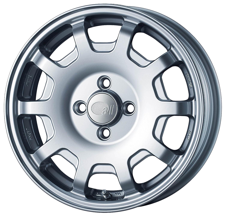 エンケイ アルミホイール all four -KCR15 x 5.0J +45 4H 100 Sparkle Silver AL4-550-45-4C-S B06VV4D89X