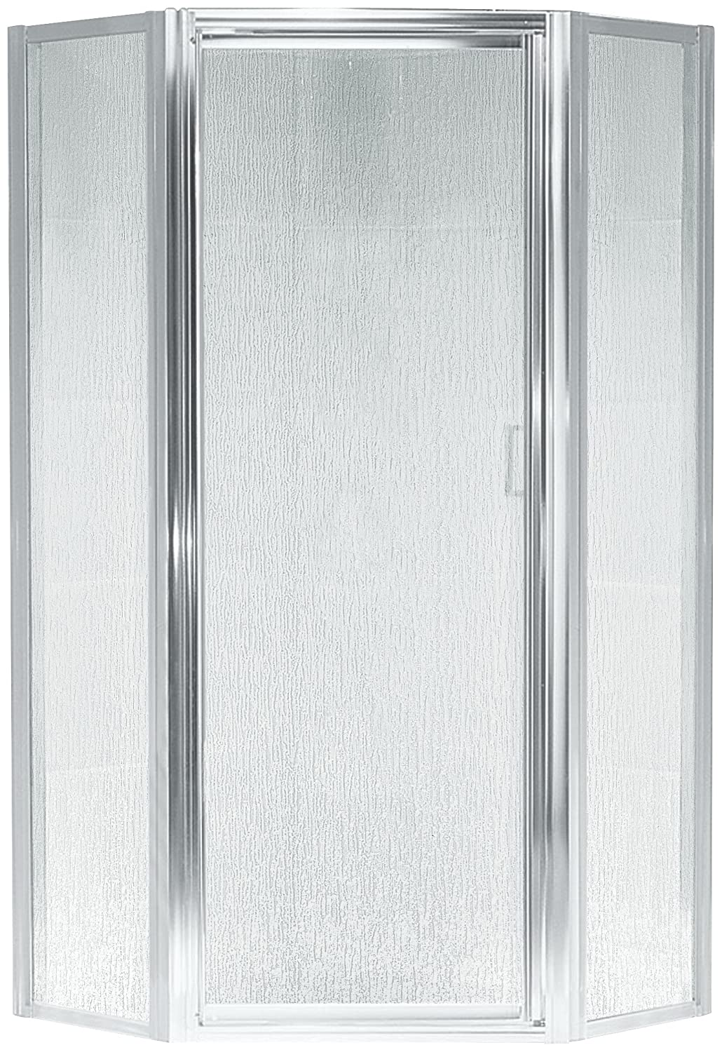 Sterling Sp2276a 38s Intrigue Neo Angle Shower Door Silver With