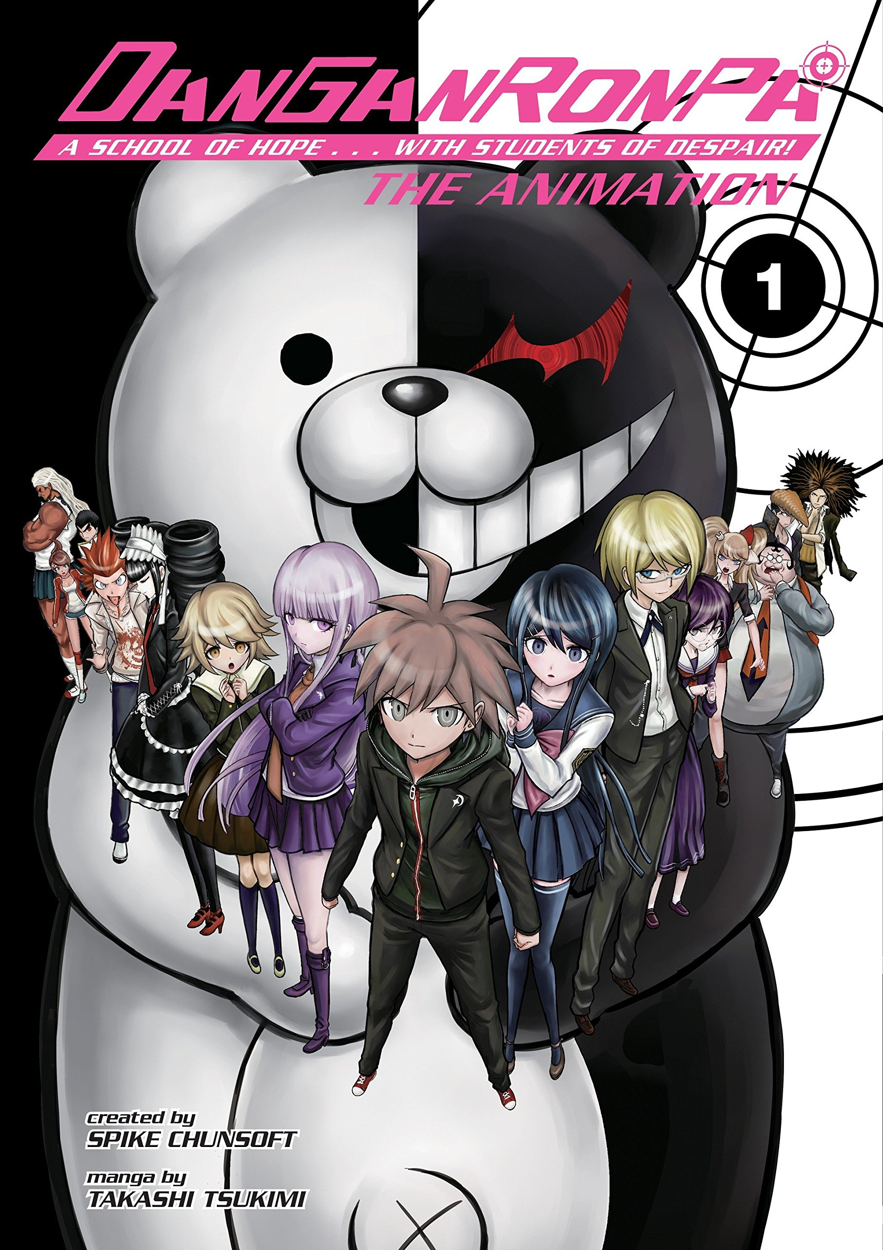 Danganronpa the animation volume 1 spike chunsoft 9781616559281 amazon com books