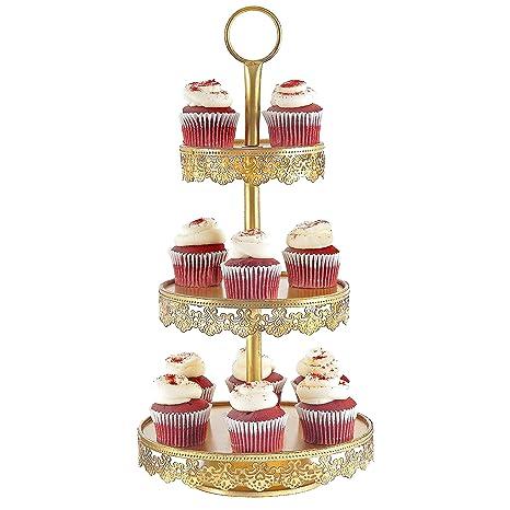 Amazon.com: Soporte para cupcakes, soporte para tartas ...