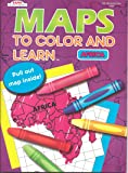 Maps to Color and Learn - Africa (pull out map inside book)