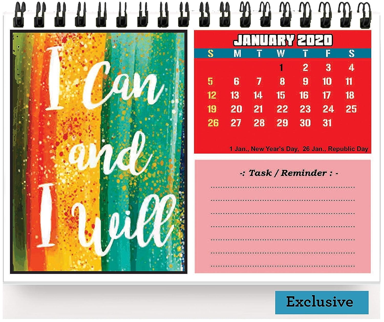 accuprints motivational calendar for desk motivation