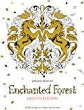 Enchanted Forest Artist's Edition: A Pull-Out and Frame Colouring Book (Pull Out & Frame Colouring Bks)