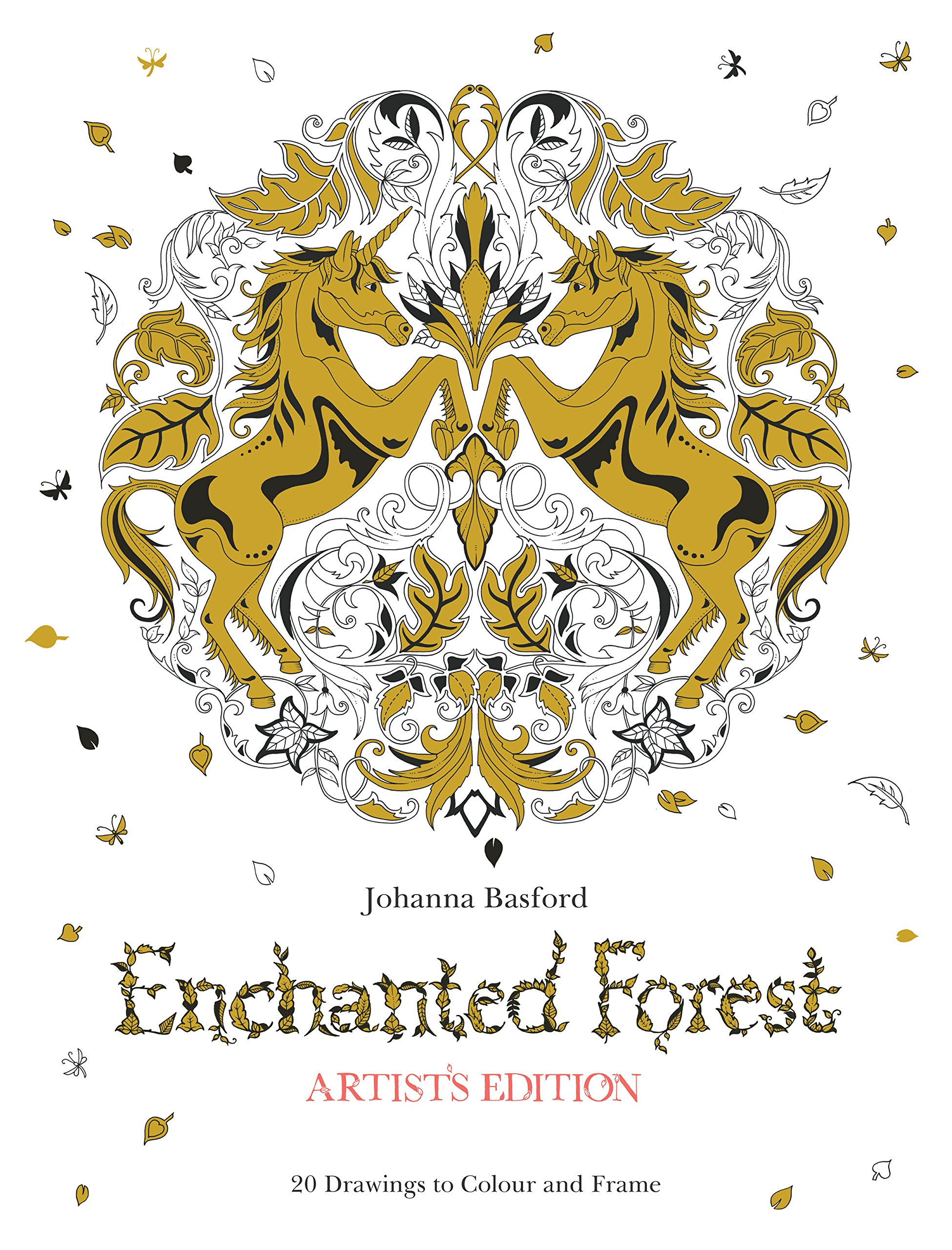 Enchanted Forest Artist's Edition: A Pull-Out and Frame Colouring Book pdf epub