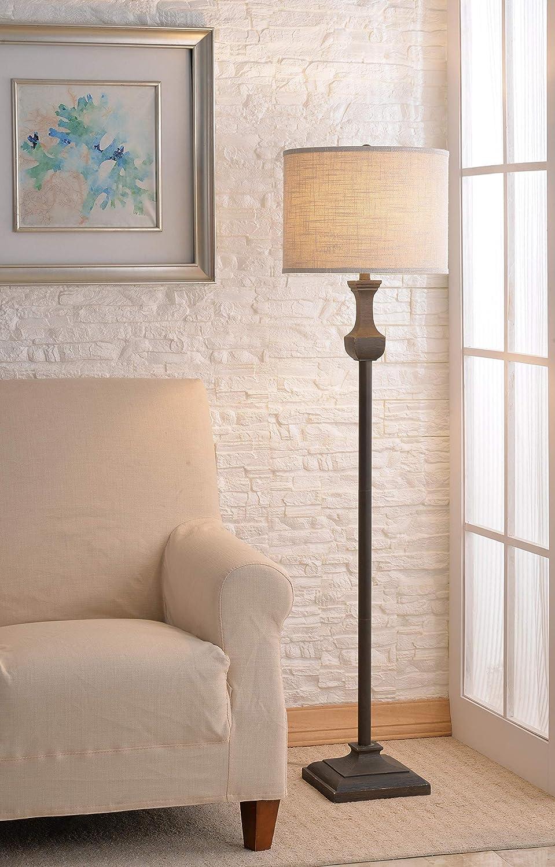 Driftwood Finish Kenroy Home 33026DW Brookfield Floor Lamp