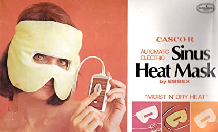Amazoncom Cascor Automatic Electric Sinus Heat Mask Moist N Dry