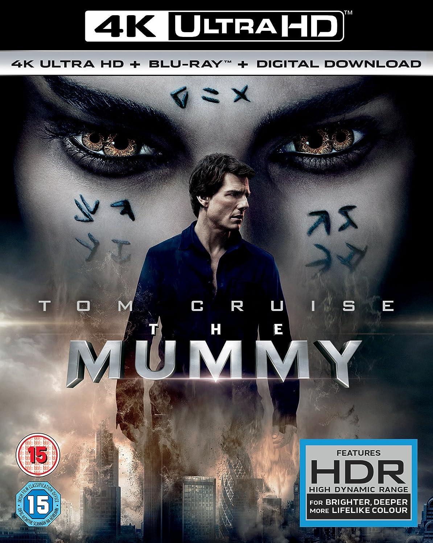 The Mummy (2017) 4k Uhd + Digital Download [blu-ray]