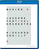 マーラー : 交響曲 第8番 変ホ長調 「千人の交響曲」 (Mahler : Sym 8 / Riccardo Chailly   Lucerne Festival Orchaestra) [Blu-ray] [輸入盤] [日本語帯・解説付]