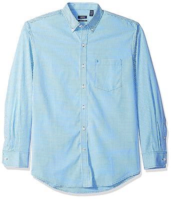 120a0c74fac IZOD Men s Premium Performance Natural Stretch Gingham Long Sleeve Shirt ( Big   Tall and Tall