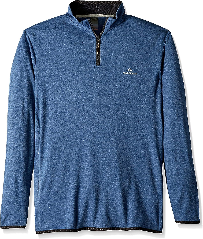 Quiksilver Mens Sea Explorer High Neck Half Zip Shirt