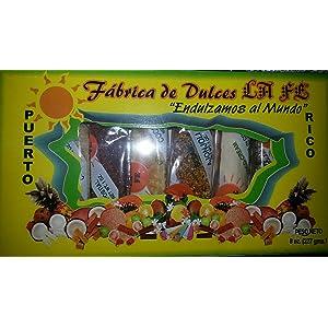 Assortment of Puerto Rican Candies By Fabrica De Dulces La Fe (8 Pieces) 1