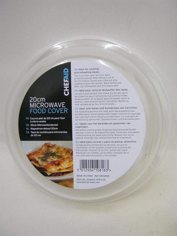 Chef Aid 20cm Mikrowelle Abdeckhaube George East Housewares 10E10818