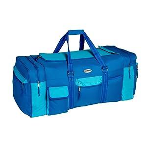 Grand sac de tennis sac de sport Sac de Voyage XXL avec environ 130 litres de capacité …