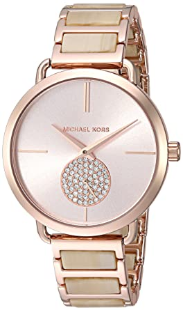 eb292b21b953 Amazon.com  Michael Kors Women s Analog-Quartz Watch with Stainless ...