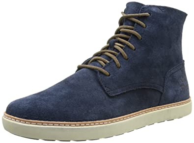 Timberland Ek Hudston Plain Toe Boot, Herren Stiefel Blau