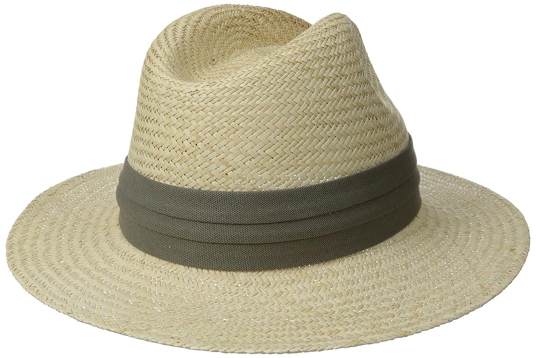 163877f0 Tommy Bahama Men's Panama Safari Hat with Three-Pleat Cotton Band at Amazon  Men's Clothing store:
