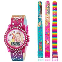Girls' Quartz Watch with Rubber Strap, Multicolor, 13 (Model: JOJ40068AZ)