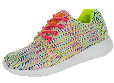 promo code 475b0 66a3c Beppi Sneaker Mädchen | Turnschuhe Freizeitschuhe Bequem Leicht |  Outdoorschuhe Schuhe Straßenschuhe Kinder | Fuchsia, Türkis, Weiß