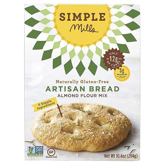 Simple Mills - Pan naturalmente Gluten-Libre del artesano de la mezcla de la harina