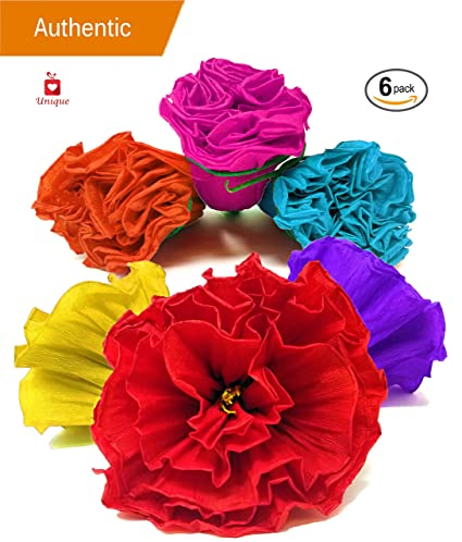 Amazon alondras imports uniquely handcrafted festive mexican alondras imports uniquely handcrafted festive mexican paper flowers party decorations paper flowers for mightylinksfo