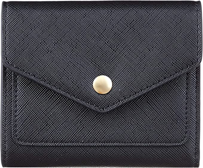 RFID Blocking Wallet Women Card Women/'s Soft Leather Credit Card Holder Wallet
