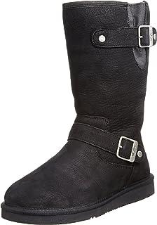 03b041fc764 UGG KENSINGTON BIKER BOOTS SIZE 5/6/7 WOMENS (5): Amazon.co.uk ...