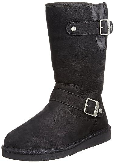 6010c97cae4 UGG Australia Women s Sutter Casual Boot Black 8 B(M) US: Buy Online ...
