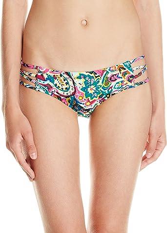 New Volcom Womens Walk About Bandeau Bikini Top Nylon Elastane