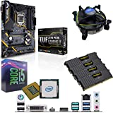 Components4All Intel Coffee Lake Core i5 9600K 3.7GHz (4.6GHz Turbo) CPU, ASUS TUF Z370-Plus Gaming II Motherboard & 16GB 3200MHz Corsair DDR4 RAM Pre-Built Bundle
